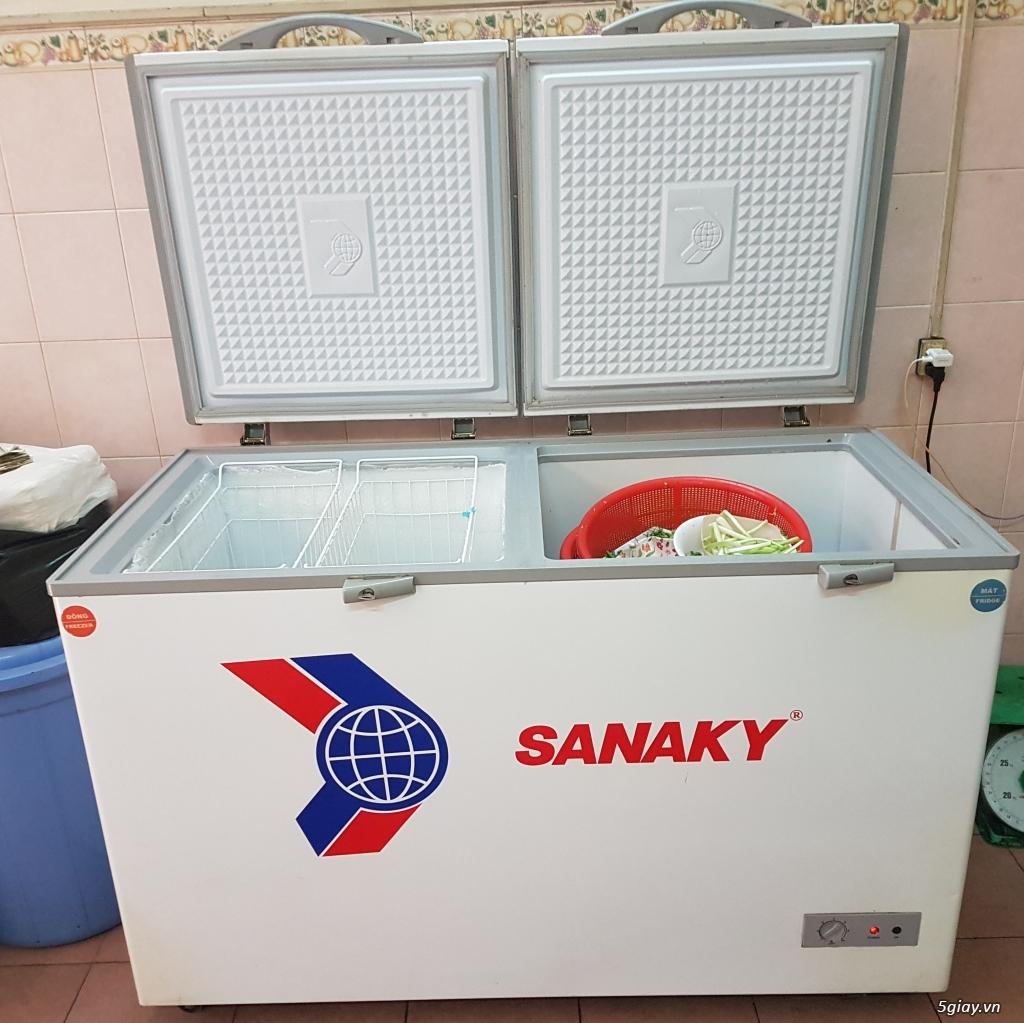 Bán tủ mát Sanaky vh-568 w2 560 lít