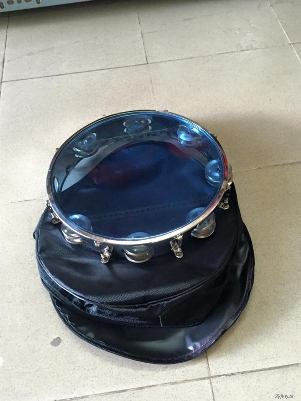 Bán trống gõ bo chơi nhạc chế , trống lục lạc , trống lắc tay tphcm - 6