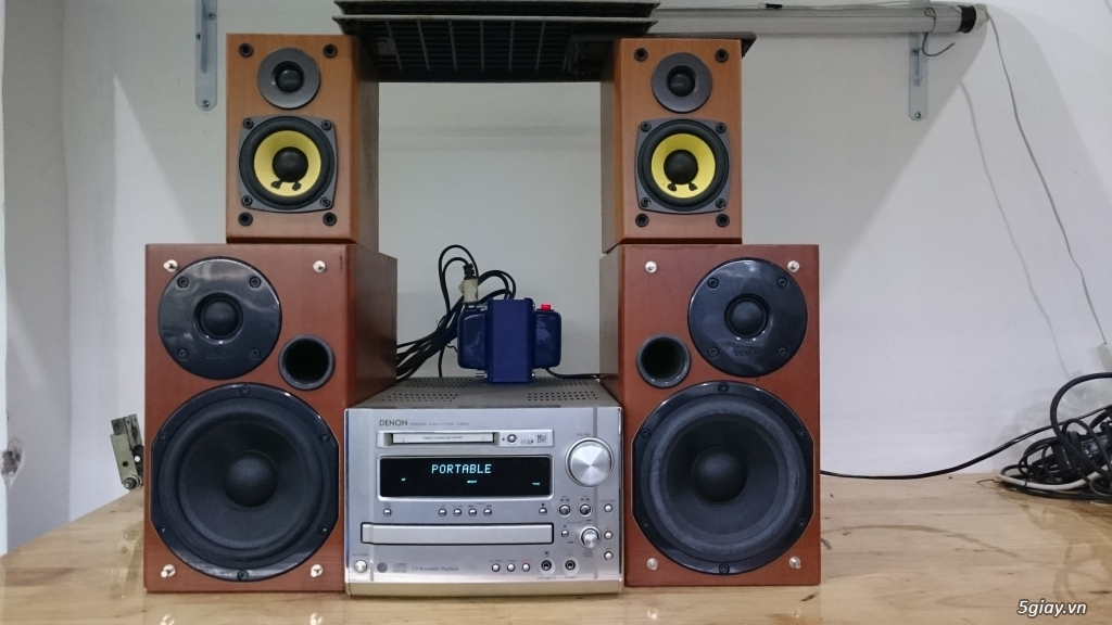 Dan Mini Denon MG33 - 1