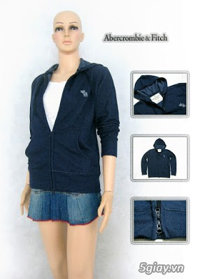 Bán sỉ áo khoác nữ Abercrombie & Fitch giá cực rẻ