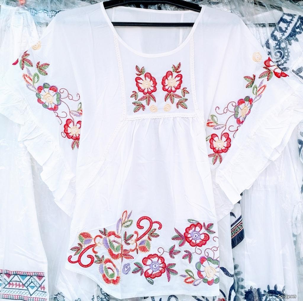 Thời trang nữ trung niên CHÂU( đợt 30): Tuyển tập mẫu áo font vừa, dài - 1