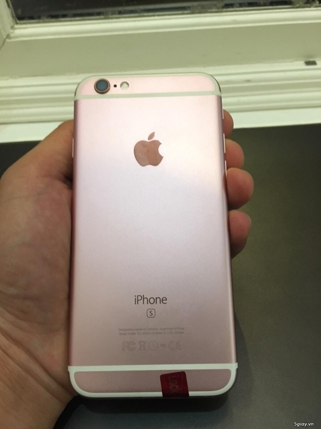 Bán iphone 6s-16gb-rose gold-lock nhật 99% zin all nguyên bản. - 2