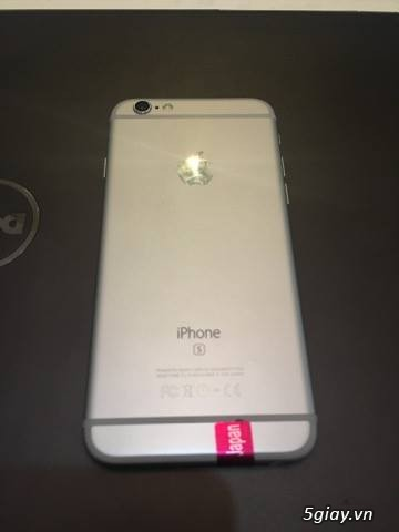 Bán iphone 6s-16gb-silver-lock nhật 99% zin all nguyên bản ios 9.0.2