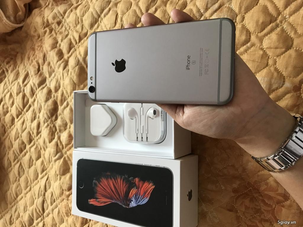 iphone 6S plus 64Gb grey quoc te full box - 4