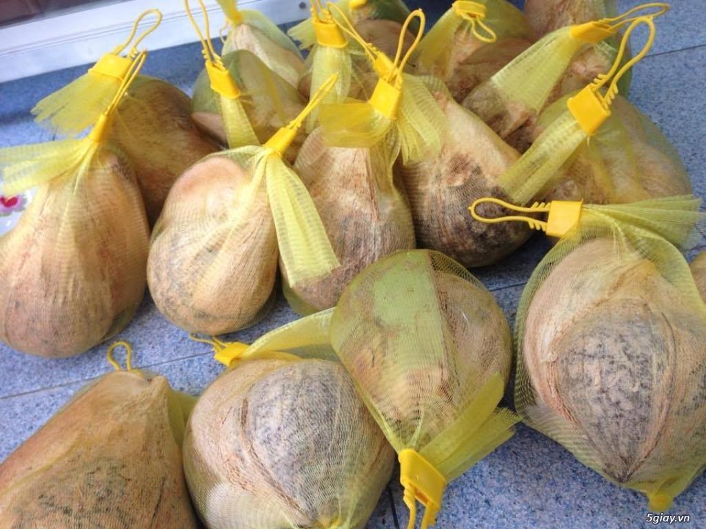 Bán dừa sáp Trà Vinh