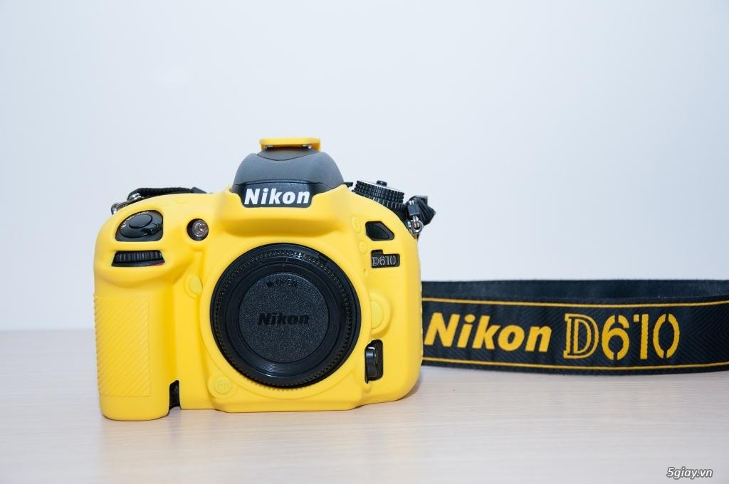 Cần bán Nikon D610, Sigma 70-200 f2.8 OS, Sigma 35Art All like New