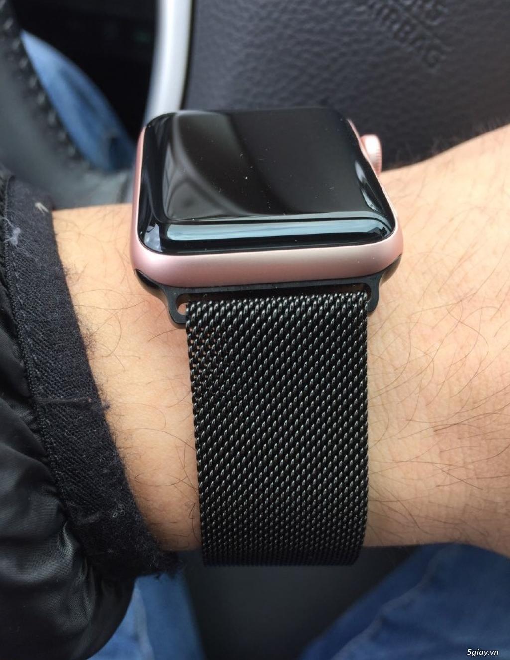 Dây đồng hồ apple watch Milanese Loop - 9