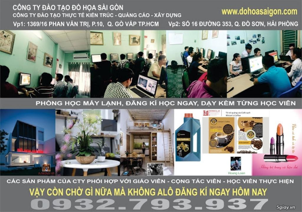 Đào tạo Thiết kế Đồ họa Quảng cáo ở GÒ VẤP, BÌNH THẠNH, QUẬN 12, THỦ ĐỨC, HCM - 22