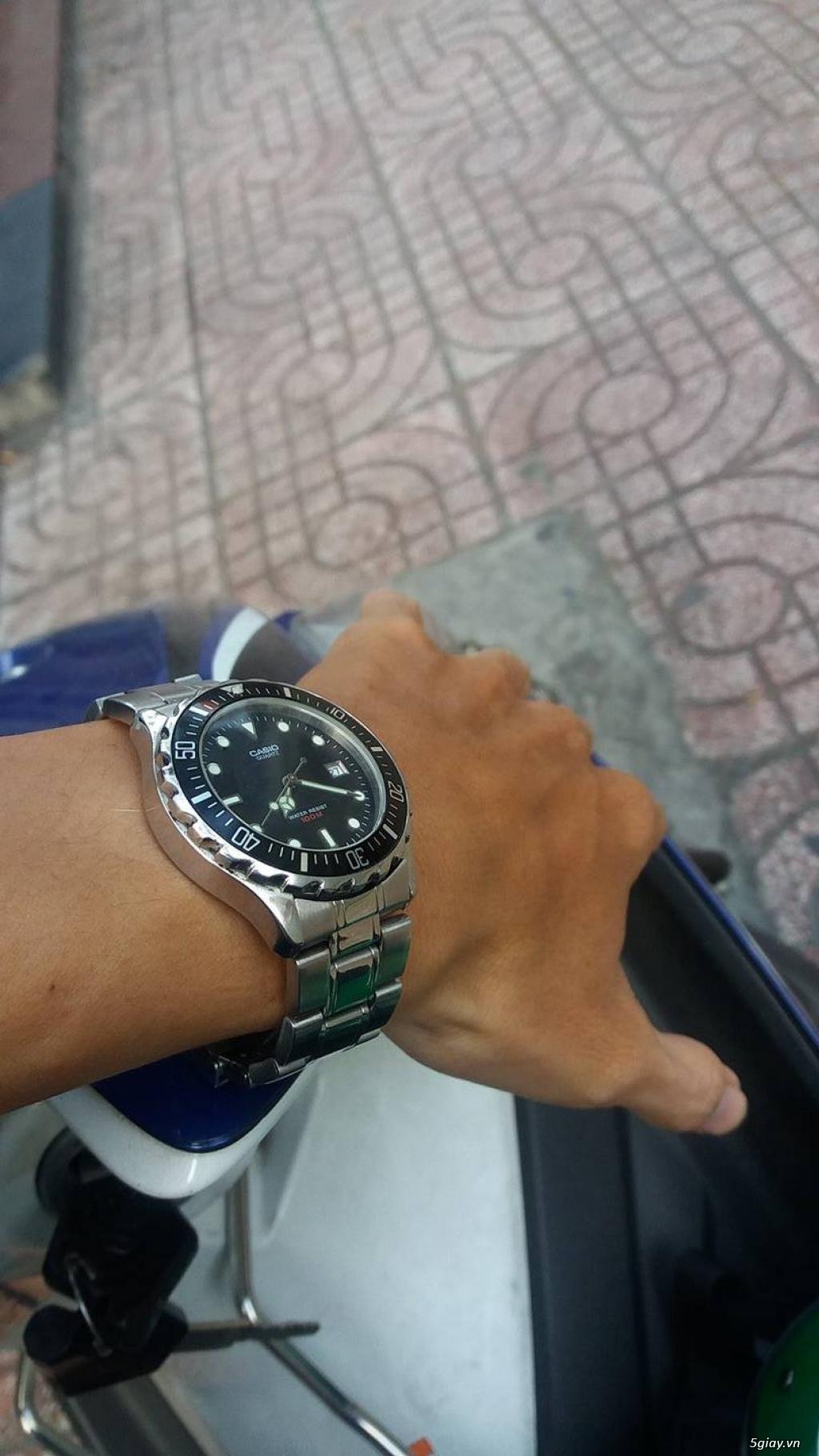 một số đồng hồ seiko citizen casio và thụy sĩ cần bán
