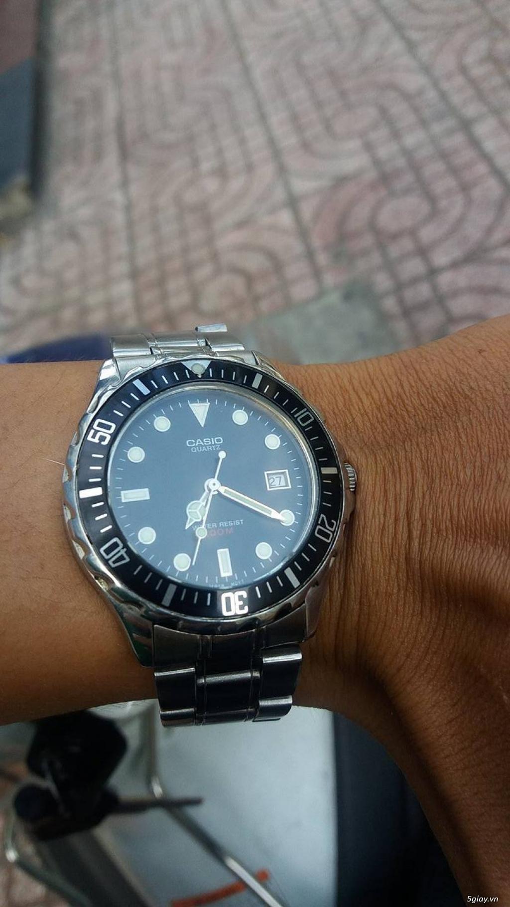 một số đồng hồ seiko citizen casio và thụy sĩ cần bán - 1