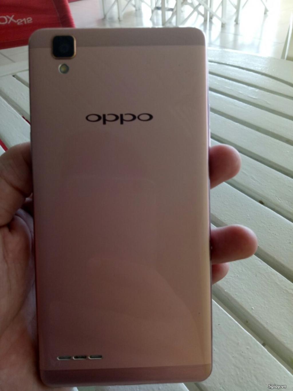 Cần bán đt Oppo F1 màu hồng nữ xài Fullbox 99%