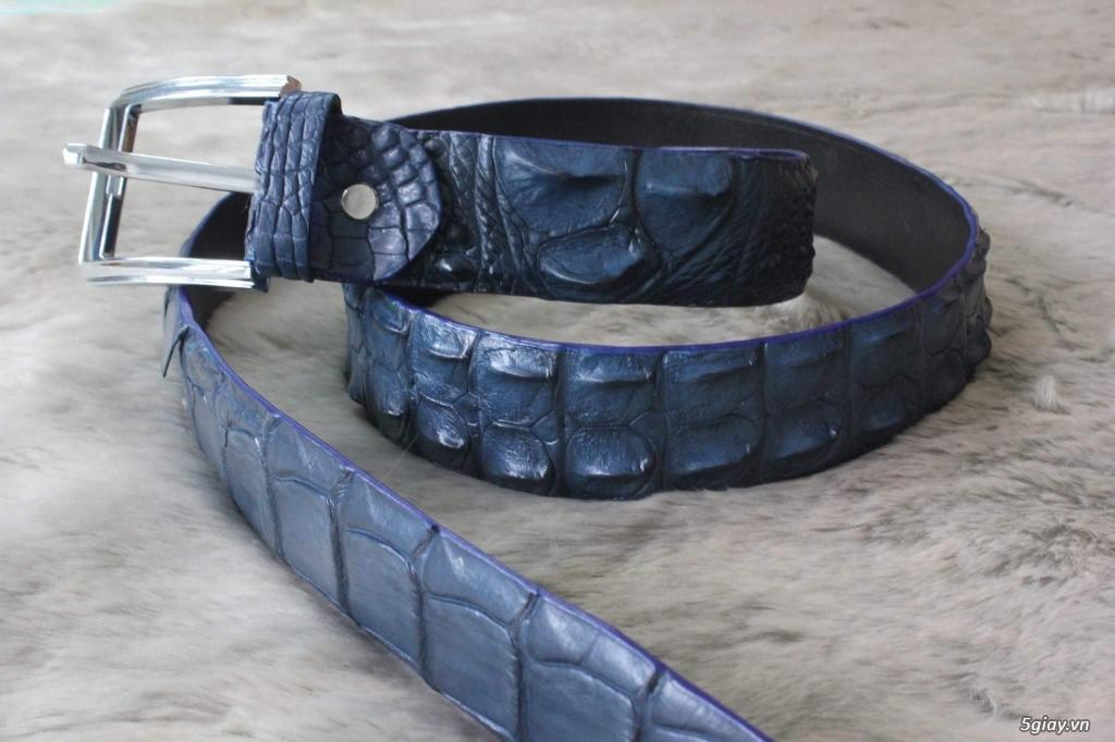 Dây nịt ( thắt lưng) da cá sấu - 1