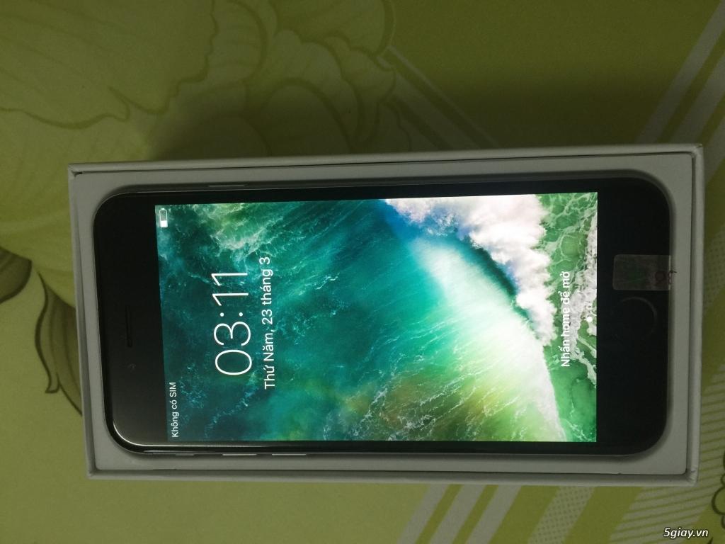 Bán iPhone 6 grey nguyên zin quốc tế giá té ghế - 1