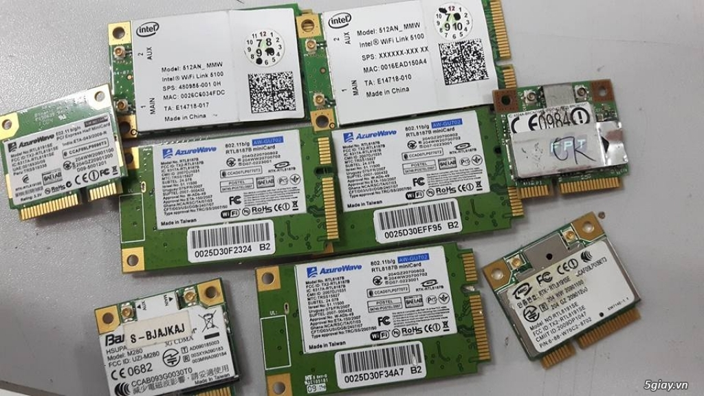 Adapter, DVD-RW, Wifi, LCD Laptop 14, 15, 15.6 Hàng Zin Tháo Máy - 6