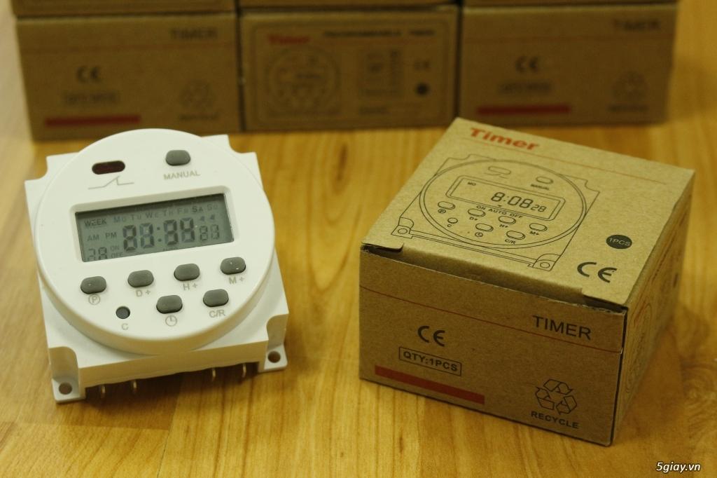 Bộ cài đặt tự động tắt/mở đèn hồ cá, máy lọc, bơm oxy...365 ngày