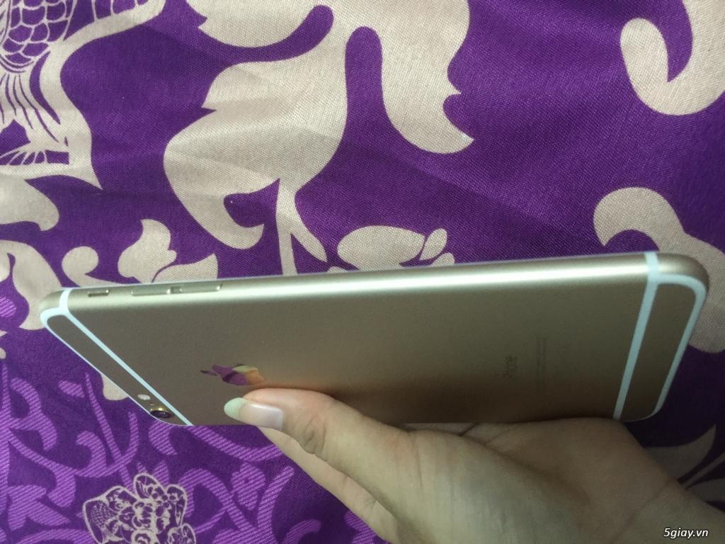 Iphone 6 plus 16g quốc tế màu gold, van tay nhạy, zin 100% - 3