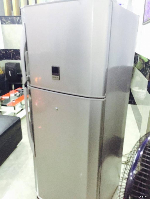 Thanh lý tủ lạnh Sharp 400l hàng tốt - 1