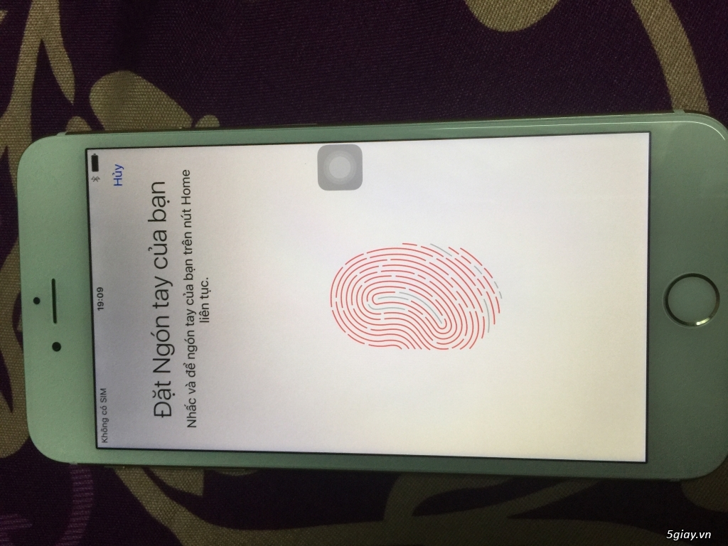 Iphone 6 plus 16g quốc tế màu gold, van tay nhạy, zin 100% - 4