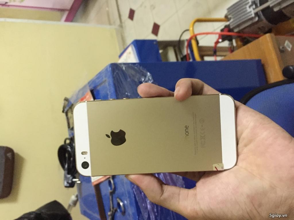 IPHONE 5S QUỐC TẾ GOLD MÁY SÀI RẤT OKE