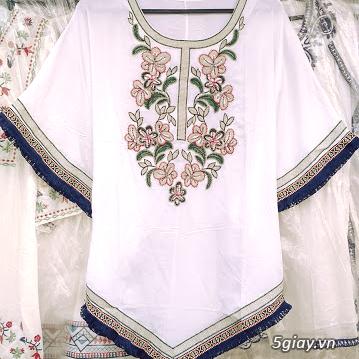 Thời trang nữ trung niên CHÂU( đợt 30): Tuyển tập mẫu áo font vừa, dài - 12
