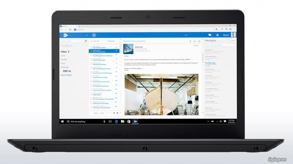ThinkPad E470 (20H1-0034VN) - Laptop Business giá rẻ - 1