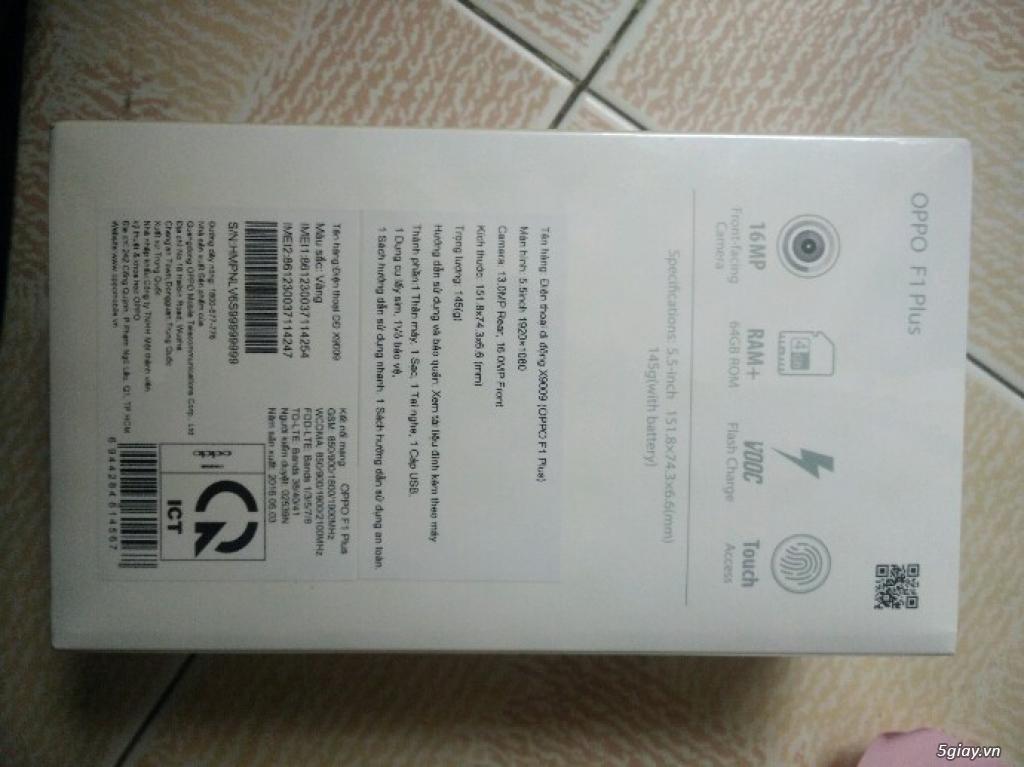 Điện thoại OPPO F1 Plus gold cấu hình khủng - Giá rẻ - 7