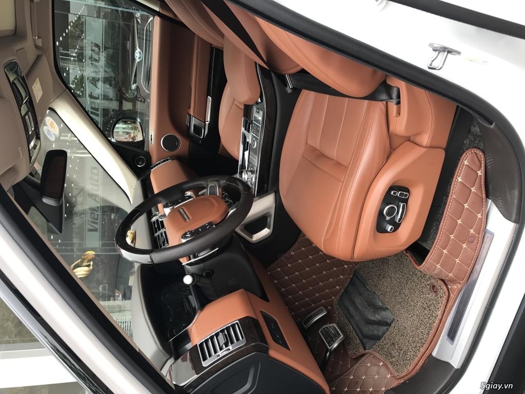 Bán Land Rover Range Rover SV Autobiography sản xuất và đăng ký 2016.
