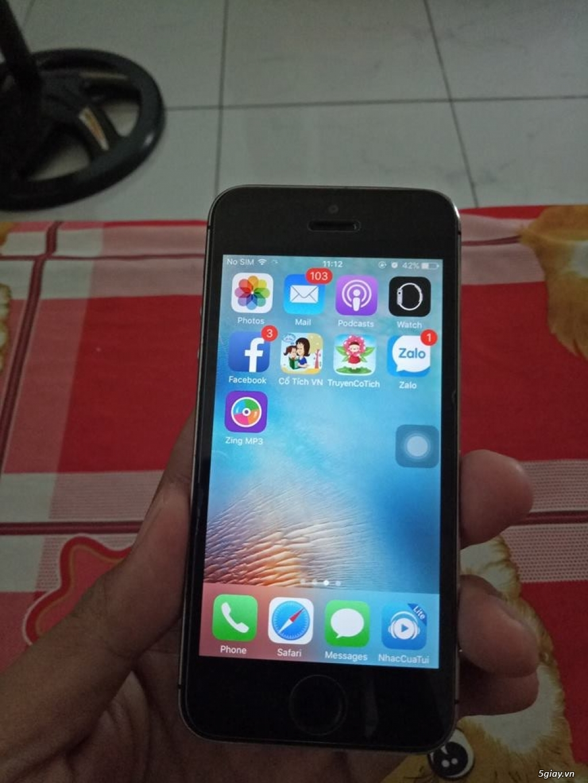 Iphone 5s quốc tế 16Gb zin all dư xài bán rẻ - 2