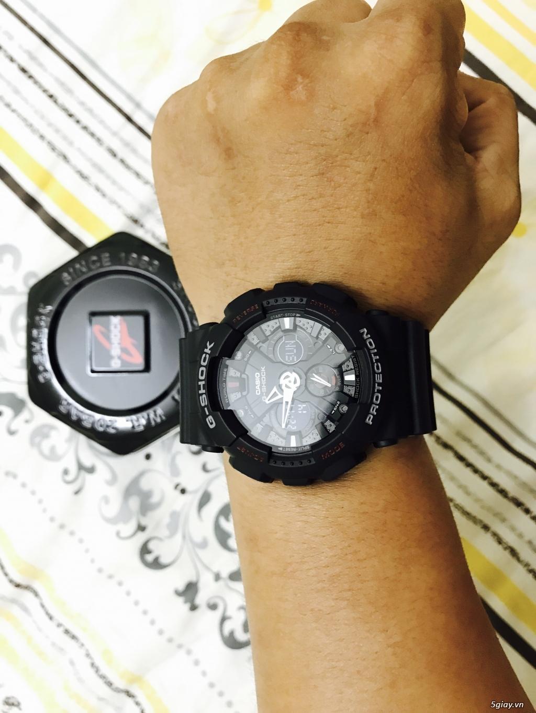 G-Shock GA-120 ra đi giá dễ thương - 4