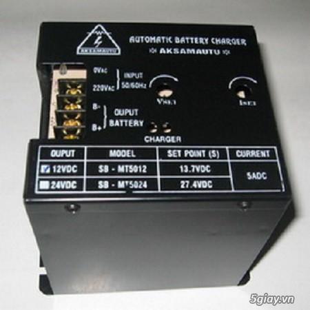 Bộ sạc ắc quy tự động cho Máy Phát Điện - Hotline: (028)37291186 - 11