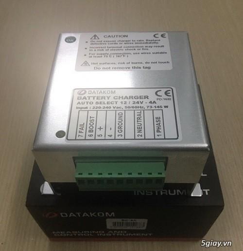 Bộ sạc ắc quy tự động cho Máy Phát Điện - Hotline: (028)37291186 - 10