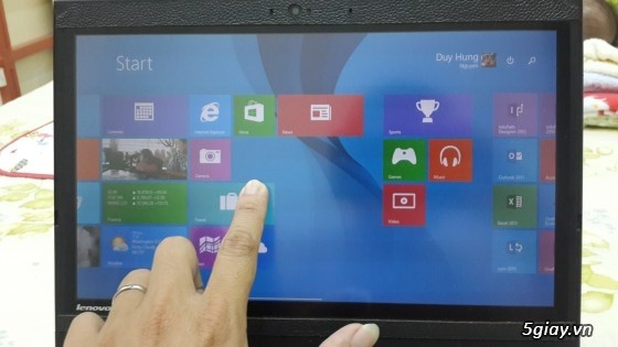Bán Lenovo x220 Tablet touchscreen - core i7 - 4GB - 250Gb - 96% 5tr2