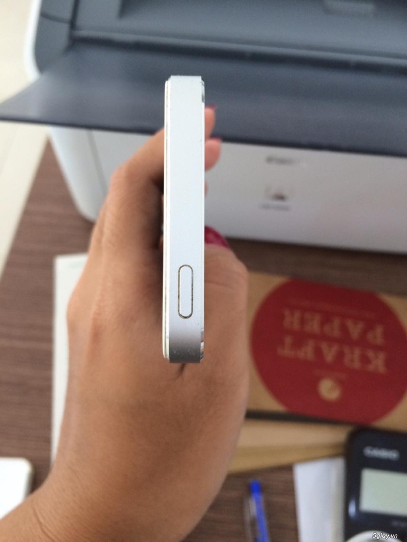 iphone 5 32gb trắng quốc tế like new zin 99% nữ sài - 4