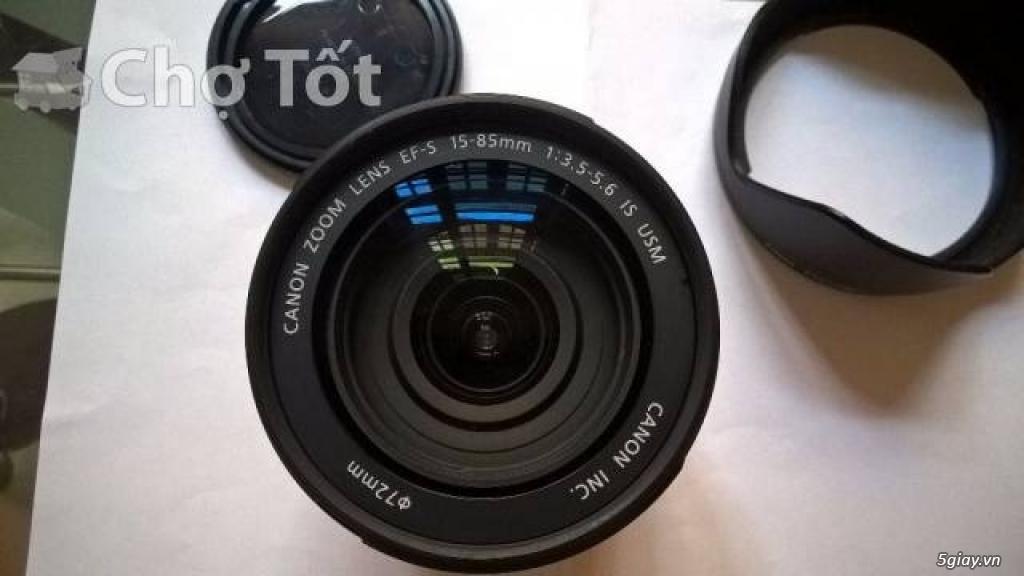 Canon 7D + lens 15-85 - 3