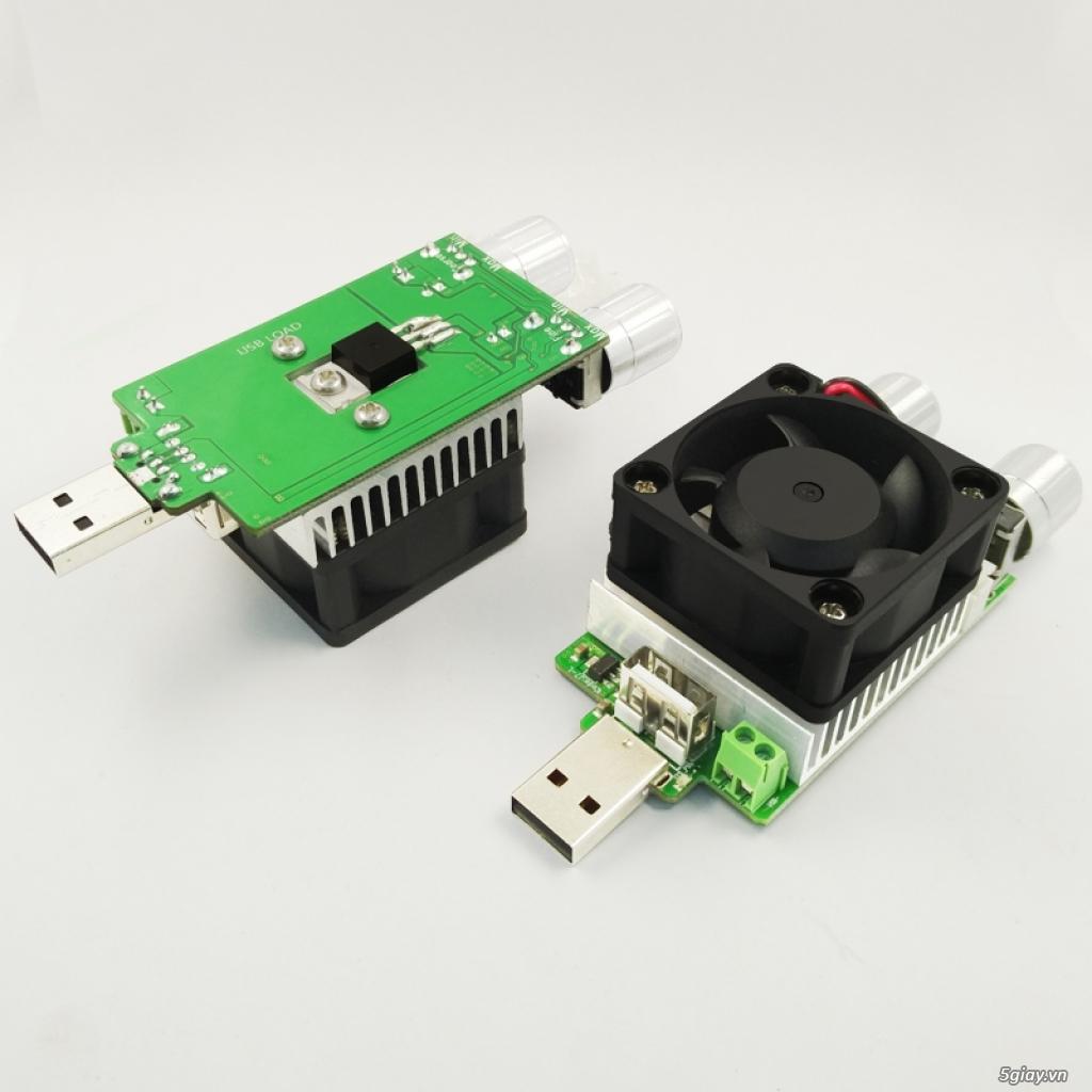Bộ USB test đo dòng sạc điện thoại, kiểm tra pin sạc dự phòng, cục sạc - 11