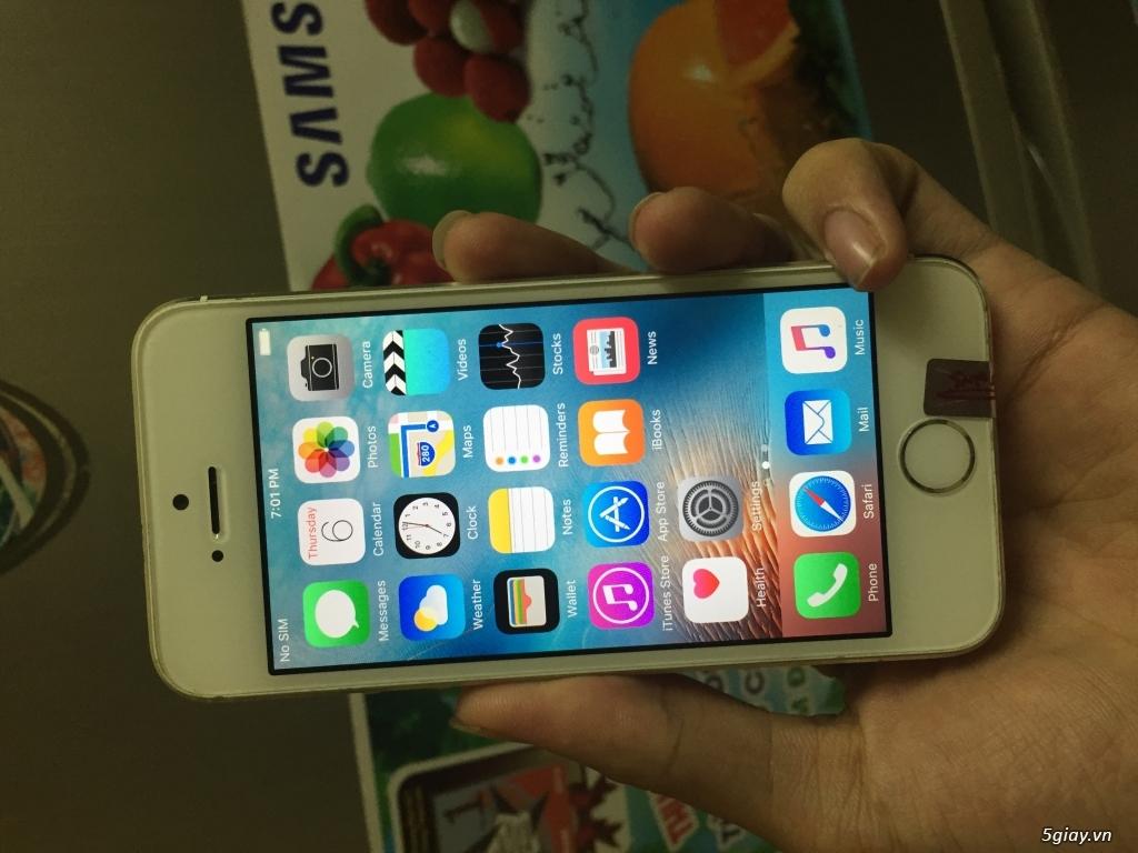 APPLE IPHONE 5S WHITE 16GB QUỐC TẾ NGUYÊN BẢN