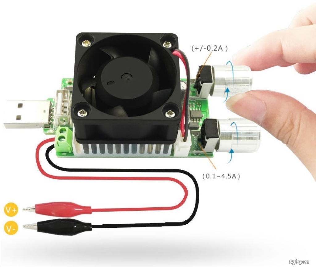 Bộ USB test đo dòng sạc điện thoại, kiểm tra pin sạc dự phòng, cục sạc - 10