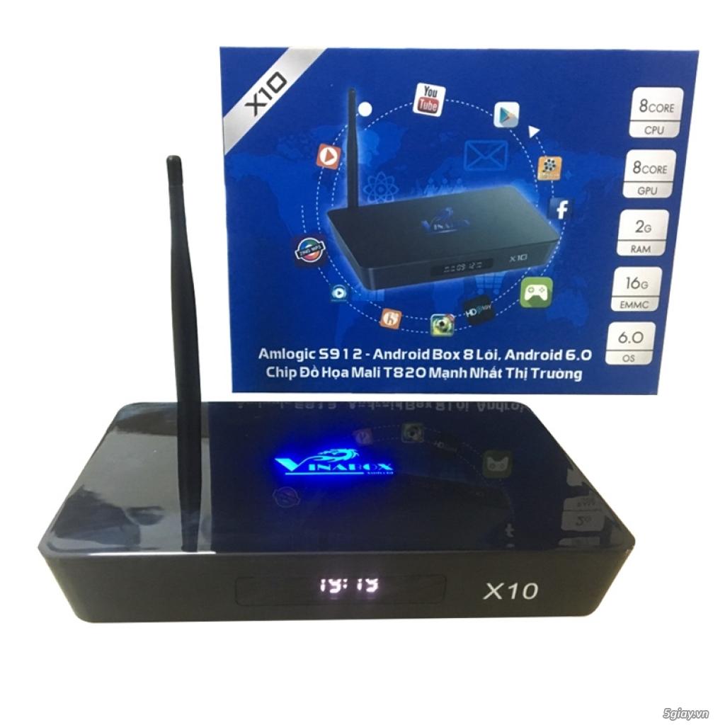 VINABOX X10 - Thiết bị truyền hình thông minh giá rẻ