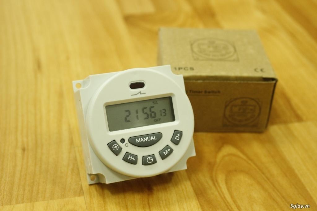 Bộ cài đặt tự động tắt/mở đèn hồ cá, máy lọc, bơm oxy...365 ngày - 1