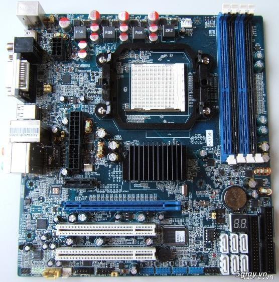 List Mainboard & CPU AMD Socket AM2/AM2+/AM3/FM1/FM2 cần bán