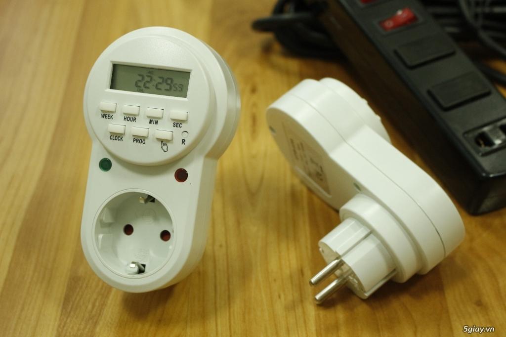 Bộ cài đặt tự động tắt/mở đèn hồ cá, máy lọc, bơm oxy...365 ngày - 2