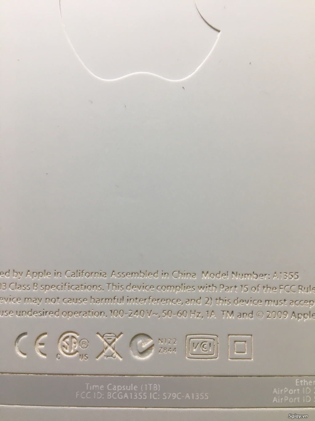Thiết bị phát WIFI của Apple : Apple Airport Extreme - Airport Express - 24
