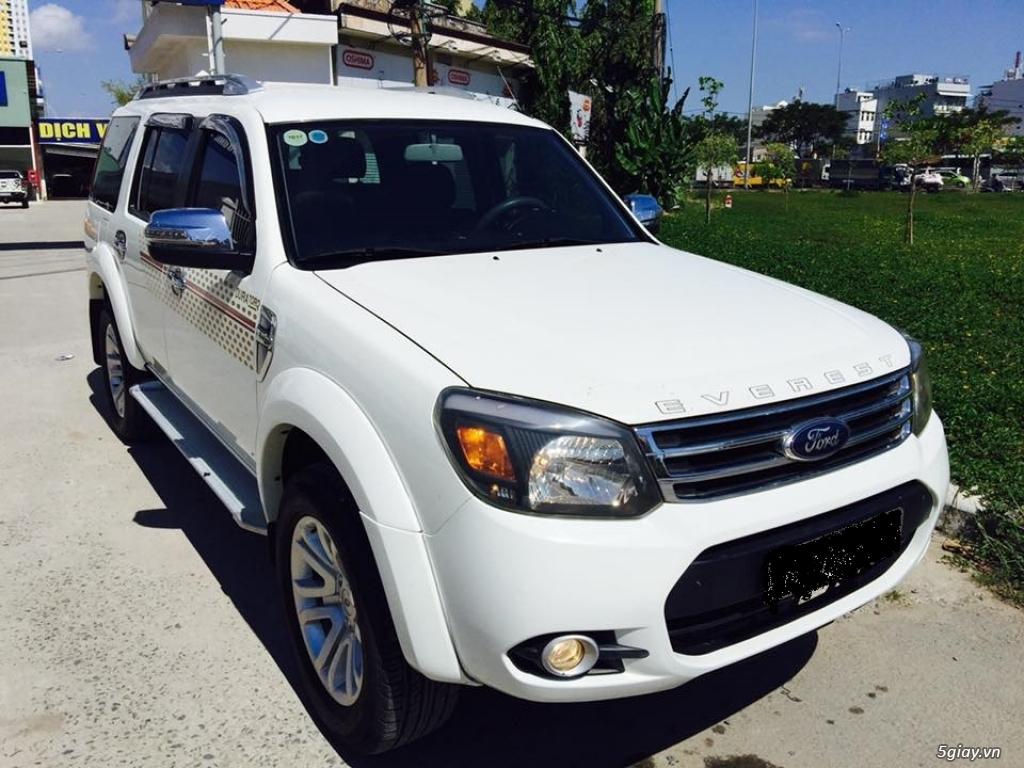 EVEREST 2.5L 2013 Model 2014 số sàn màu trắng máy dầu bảo hành 1 năm - 4