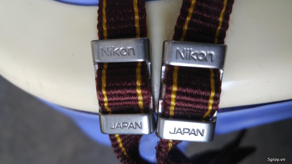 dây đeo nikon japan .nâu..rất đẹp..1t2