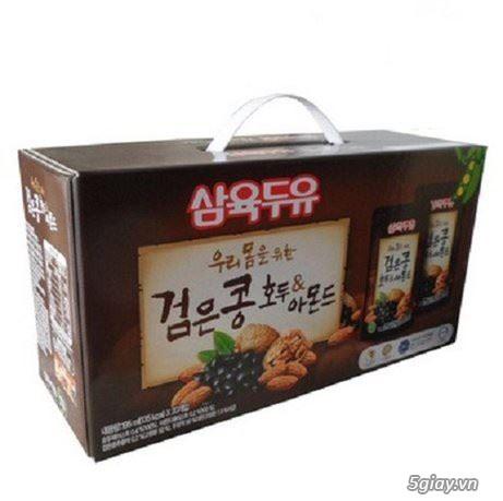 sữa óc chó đậu đen hạnh nhân Hàn Quốc