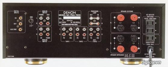 Loa AR, CDP NEC CD-620, Ampli Denon PMA-780D - 2