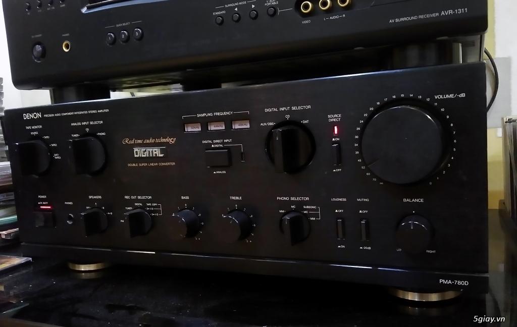 Loa AR, CDP NEC CD-620, Ampli Denon PMA-780D - 1