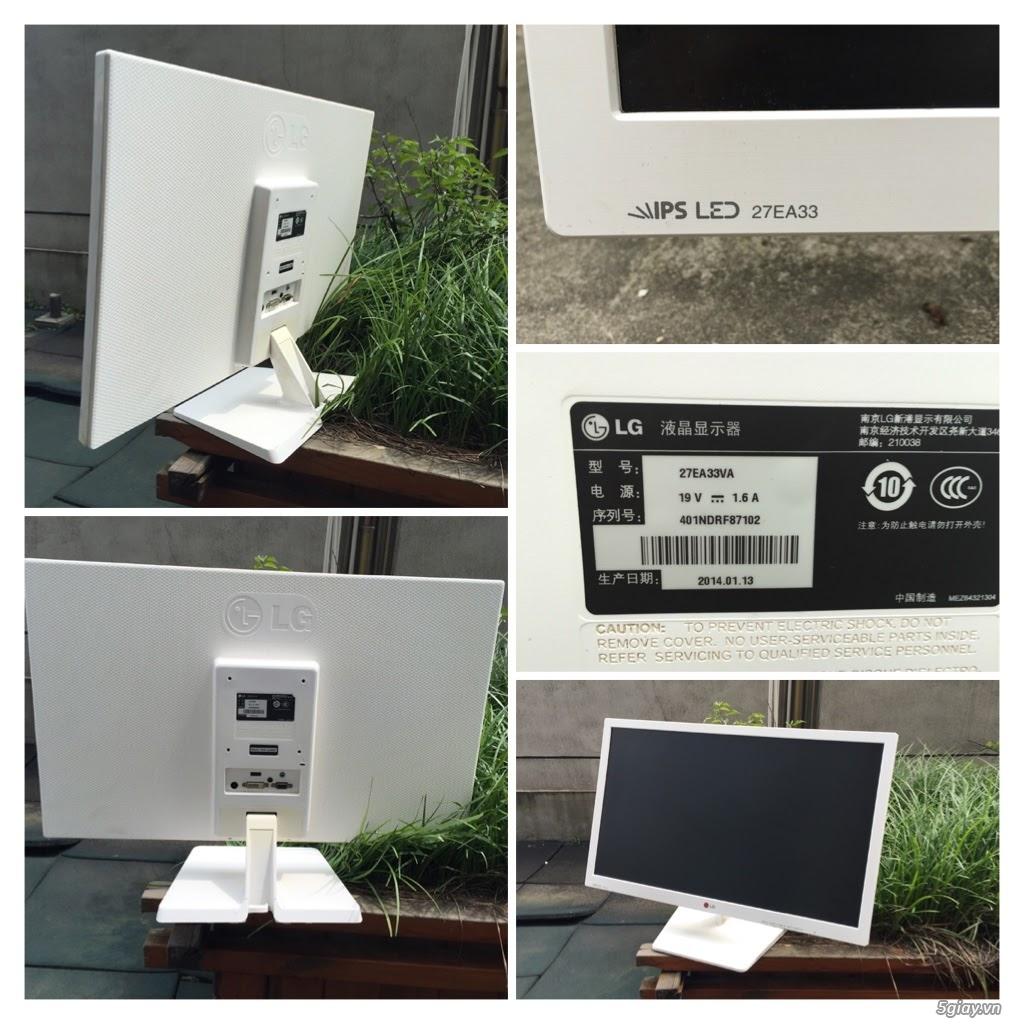"""Màn hình LCD Asus LG SamSung Philips AOC 27"""" Full-HD AH-IPS, PLS, Curved Cong, 4K UltraHD giá rẻ.. H"""