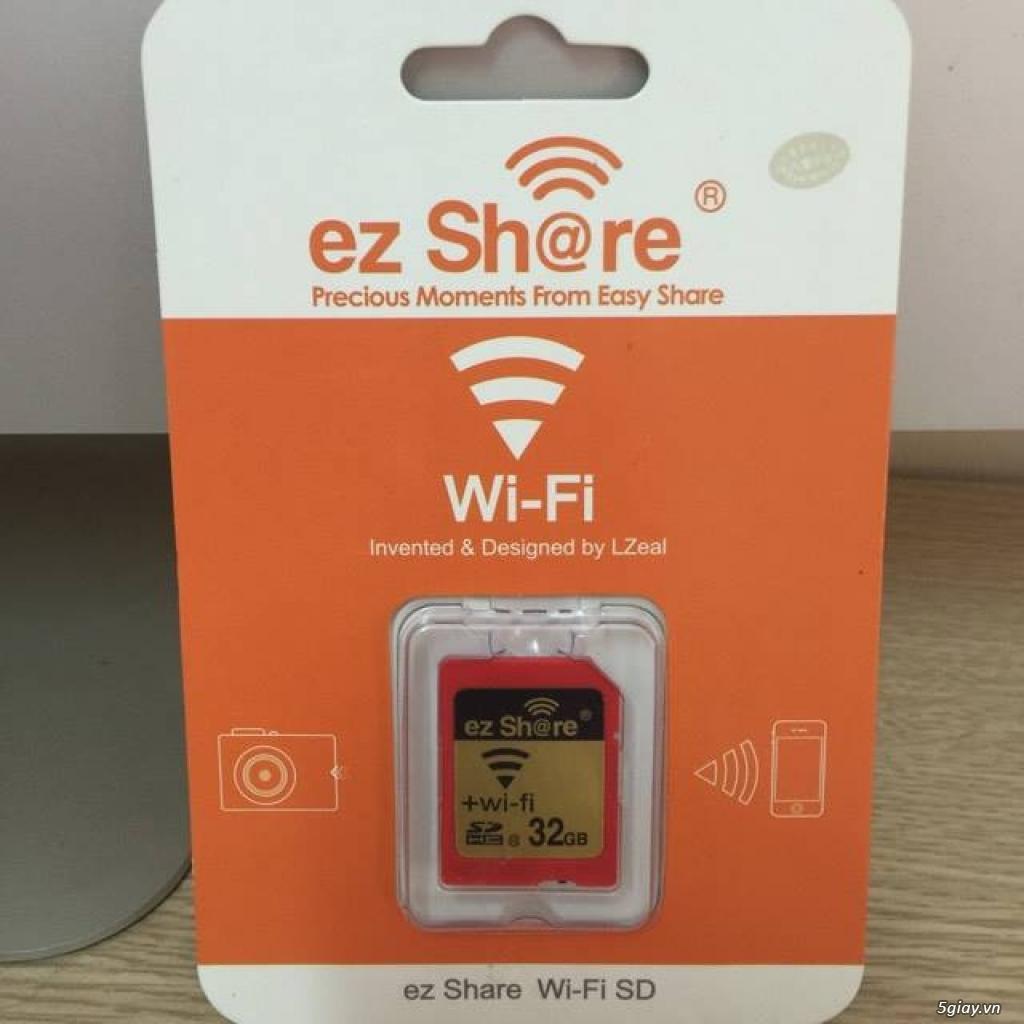 Thẻ nhớ EzShare Wifi SD 8,16,32 GB. chia sẻ ảnh ngay khi chụp và quay - 2