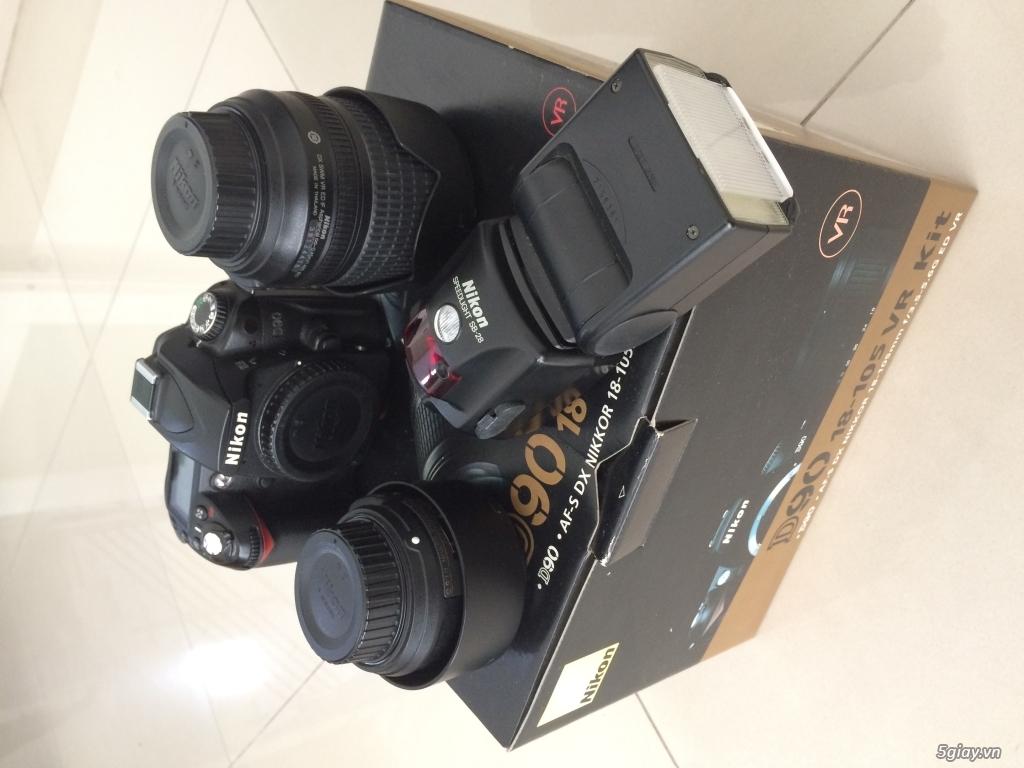 Thanh Lý D90 + kit + Flash Nikon SB-28 và một số phụ kiện - 1